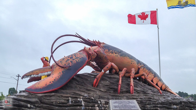 Largest Lobster in the World, Shediac, New Brunswick