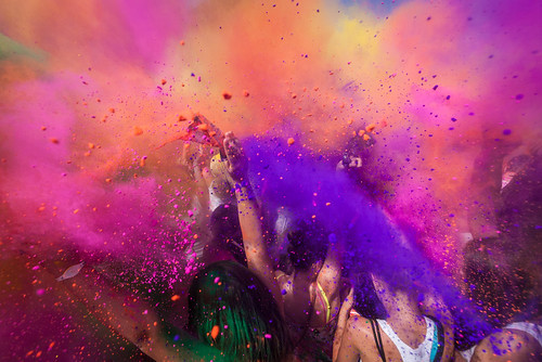 Top 10 tours for 2018 - On the Go Holi Festival of Colour