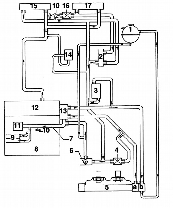 2001 Vw Jetta Radiator Hose Diagram