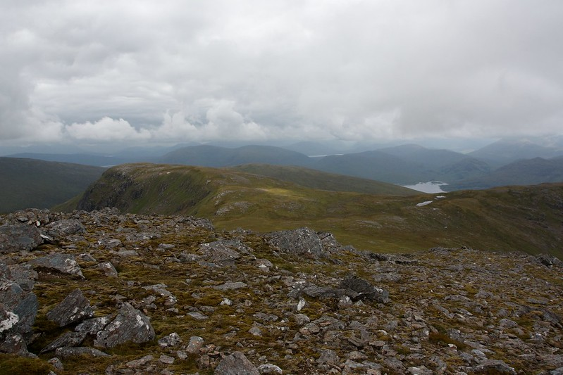 South from Chno Dearg