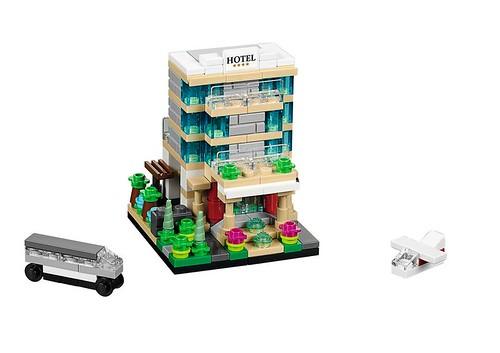 LEGO Bricktober Hotel 40141jpg