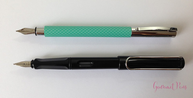 Review Faber-Castell Ambition OpArt Aqua Fountain Pen @goldspotpens @FaberCastell (8)