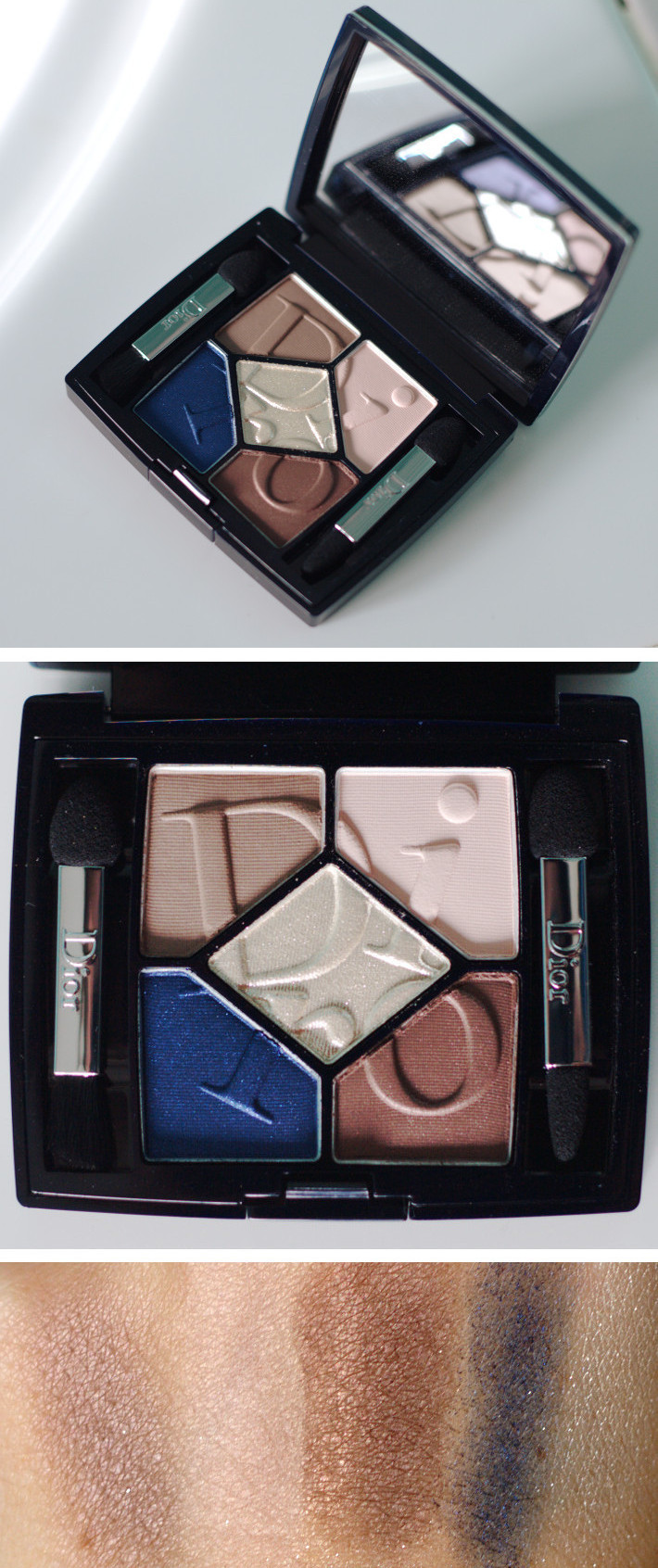 5 Couleurs Cosmopolite Couture Colours & Effects Eyeshadow Palette in Exuberante review and swatches