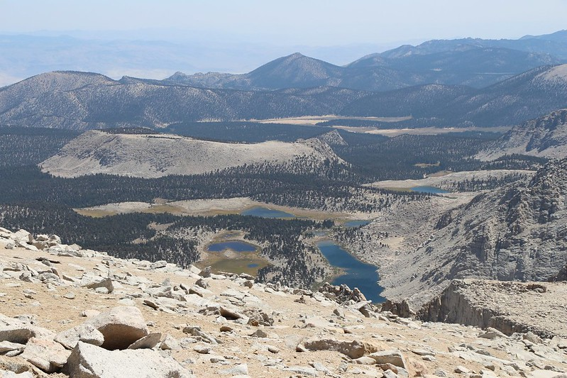 Looking south toward the Cottonwood Lakes Basin and Horseshoe Meadows