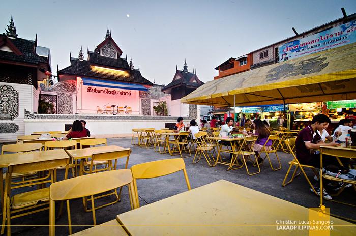 Chiang Rai Night Bazaar Thailand
