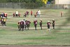 Junior football practice with possible future NFL stars
