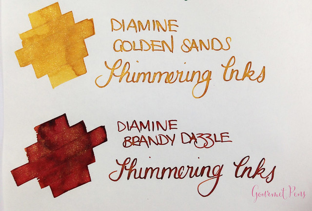 Ink Shot Preview Diamine Shimmer Inks (29)