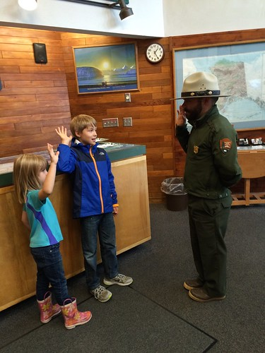 Kenai Fjords NP Jr. Ranger Pledge