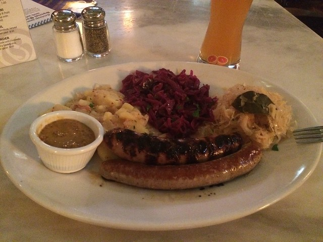 The wurst meal I had in Portland.