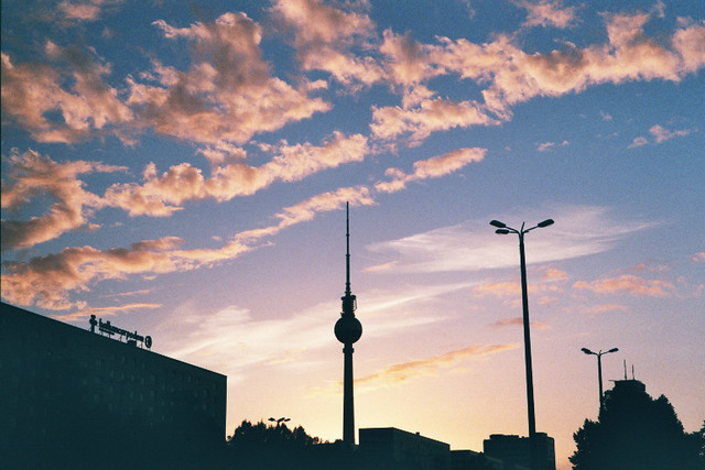 Karl-Marx-Allee // September Sky