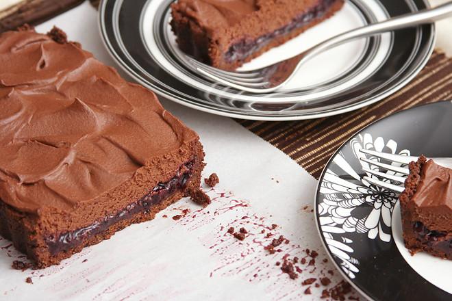 berry chocolate tart 11