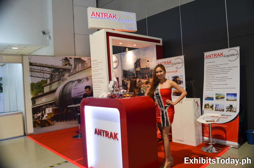 Antrak Logistics Exhibit Booth