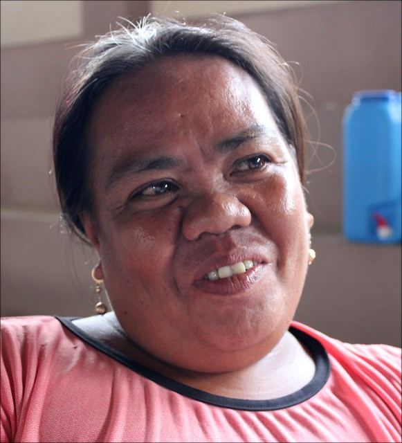 "San Miguel resident Marlene B. Supatan recalls Super Typhoon Yolanda. ""With help and time, we will regain what was lost,"" she says."