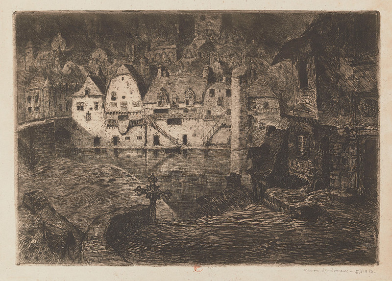 Eugene Viala - Houses From Tanners, 1880-1913