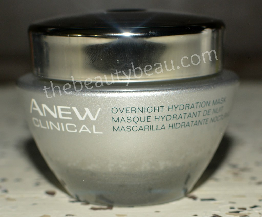 Avon ANEW Clinical Overnight Hydration Mask, skincare review, Avon ANEW Clinical Overnight Hydration Mask Review