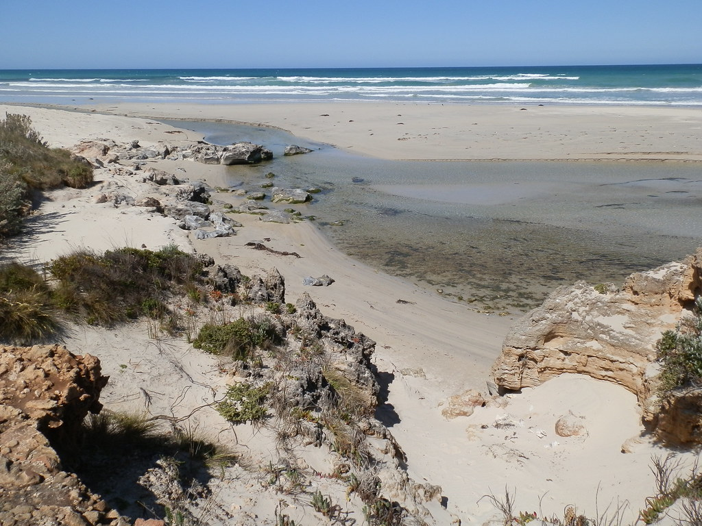Beach on the Piccaninnie Ponds Trail, Limestone Coast, South Australia