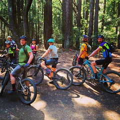 fun day riding in UC Santa Cruz.