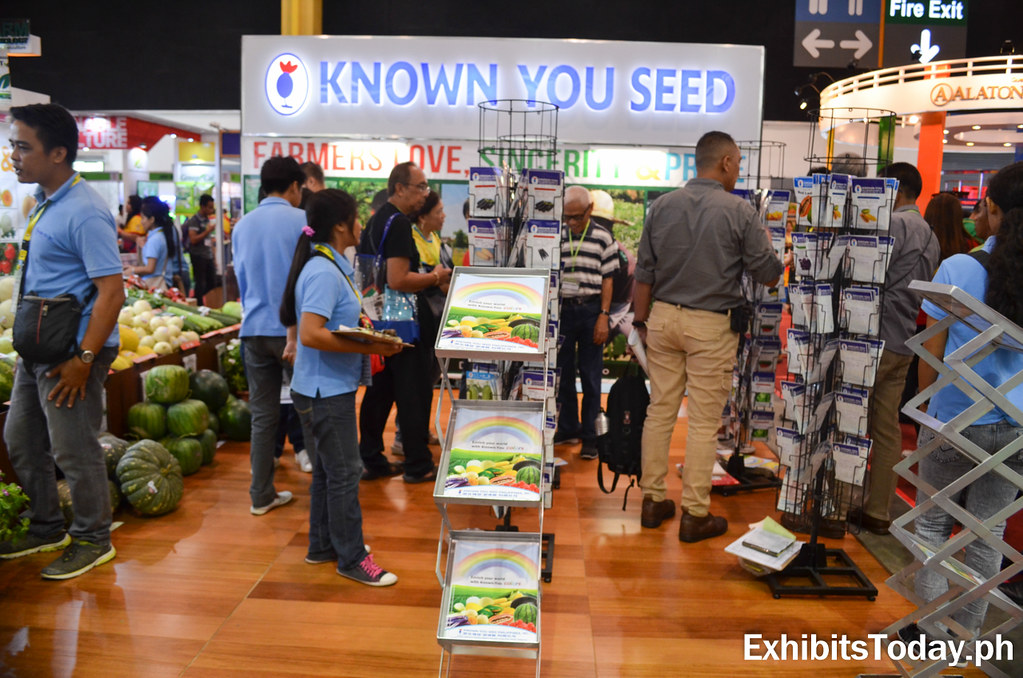 Known You Seed Exhibit Booth