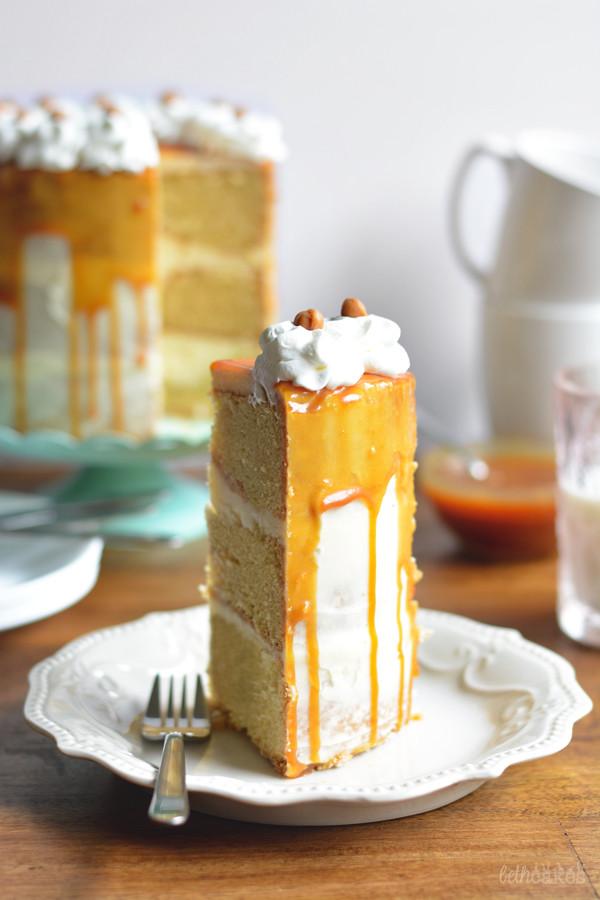 Caramel Macchiato Cake - bethcakes.com