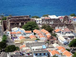 Image of Sé Catedral near Cidade Velha. santiago cidade verde island grande velha cape ribeira
