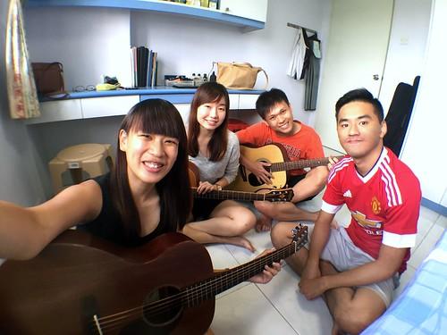 Steffi, Wen Ting & Yong Siang
