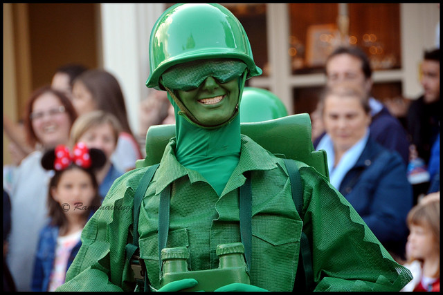 Soldat vert