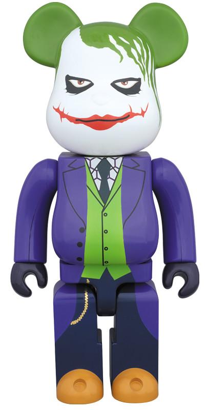 1000%的瘋狂!BE@RBRICK 推出1000% 小丑