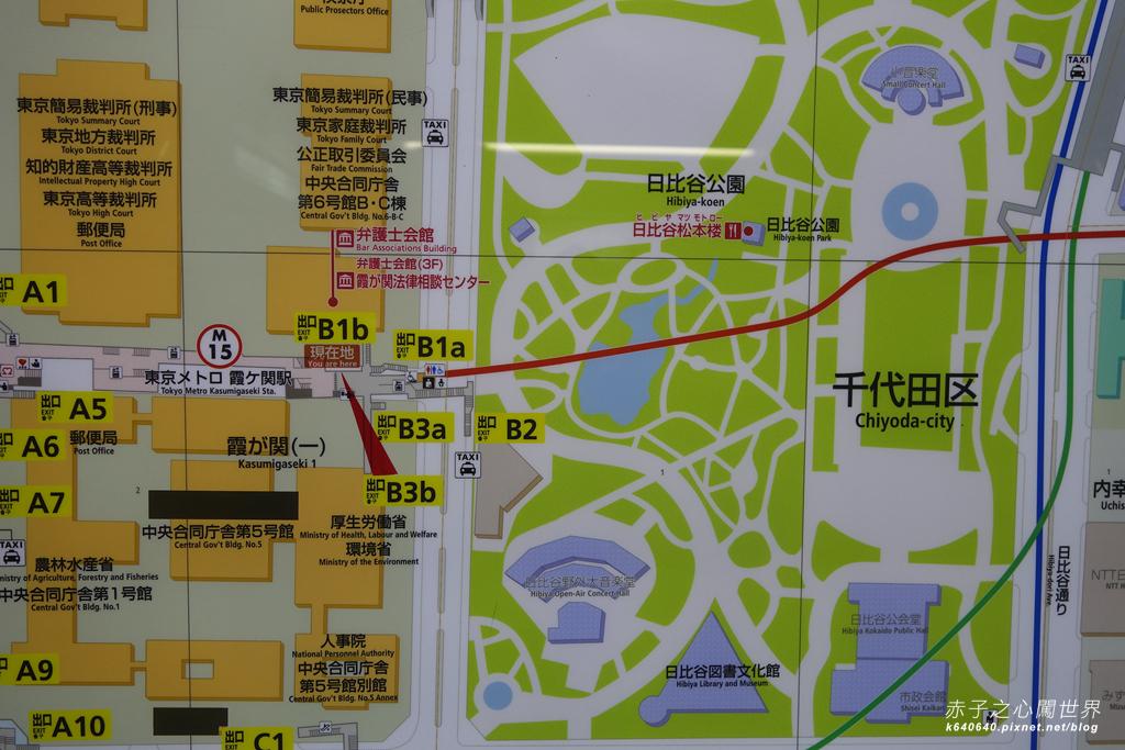 東京賞楓-日比谷公園01