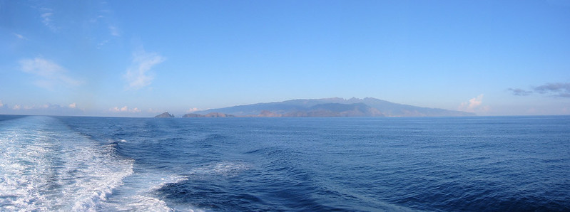 Madeira as seen from Lobo Marinho