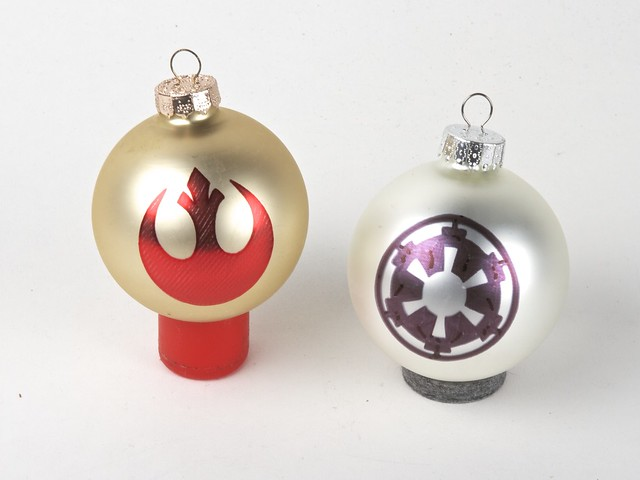 Imperial crest & Rebel Alliance Ornaments