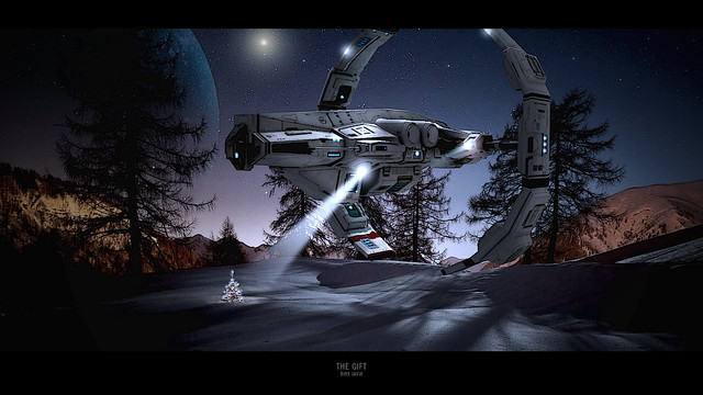 The Gift - Eve Online HD Wallpaper