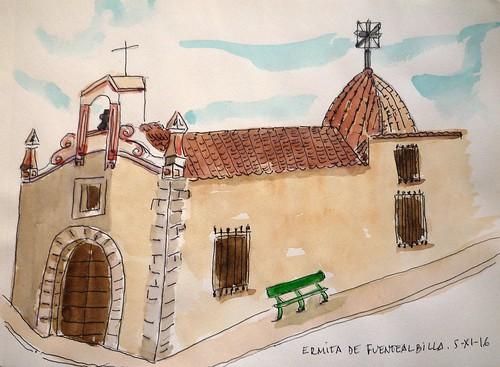 FUENTE ALBILLA. ERMITA. 5-11-16