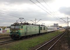 PKP CARGO ET42-017 , Kielce train station 26.10.2016