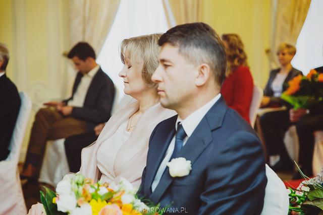 Agnieszka i Piotr - Reportaż ślubny - ZAPAROWANA-91