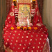 Lakshmi  Puja was performed in the Temple of Ramakrishna Mission, New Delhi, on Saturday, the 15th October 2016.