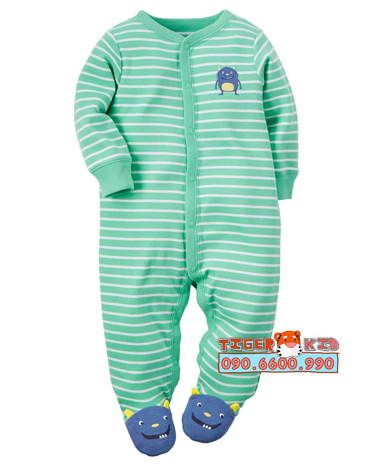 30631573100 f92430e1e7 o Sleepsuit nhập Mỹ size 6M;9M