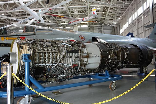 F-104J戦闘機  エンジン IMG_0437_2