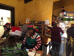 Elf and Ho Ho Hoquiam