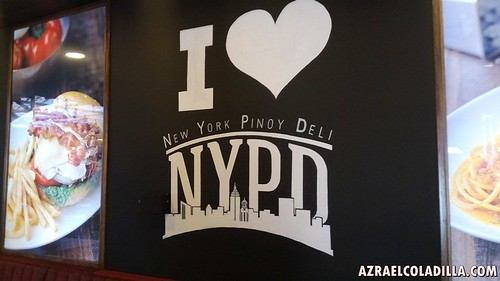 NYPD - New York Pinoy Deli restaurant inside Resorts World Manila casino