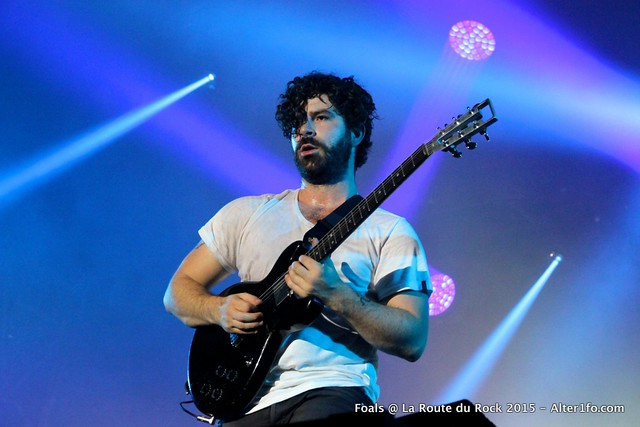 Foals @ La Route Du Rock 2015