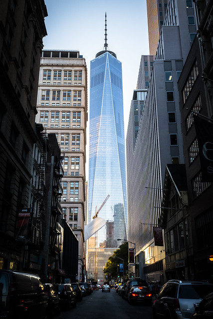 1 WTC, Late Afternoon