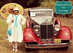 Decades of Style 1925 Zig Zag Dress