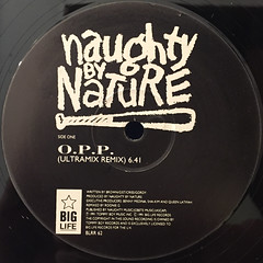 NAUGHTY BY NATURE:O.P.P.(LABEL SIDE-A)