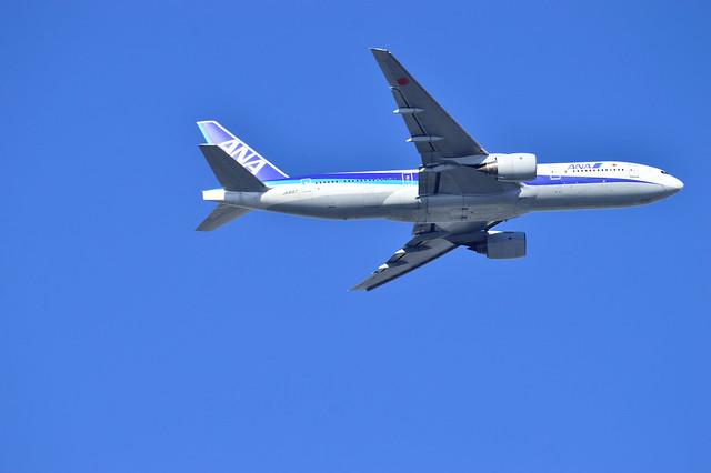 全日空JA8197(Boeing 777-200)