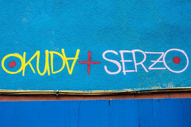 Mural de Serzo y Okuda