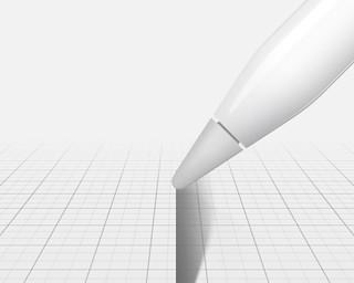 เอียงปากกา เพื่อลงแรเงาได้ เหมือนดินสอจริงๆ เลย