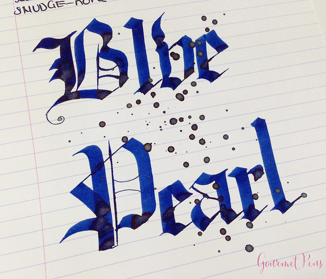 Ink Shot Review Diamine Blue Pearl (7)