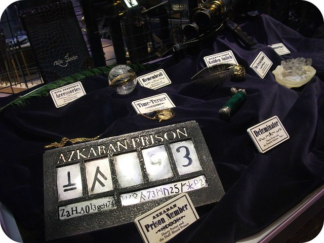 Azkaban Prisoner Number Warner Bros Studio Tour London