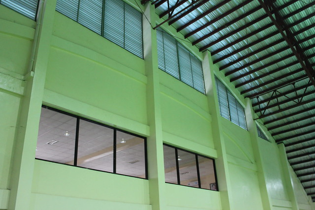 The newly-rehabilitated Tacloban City Provincial Civic Center - July 2015