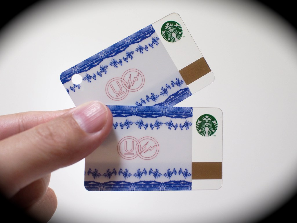 Mini Starbucks Card | fragment design × UNDERCOVER